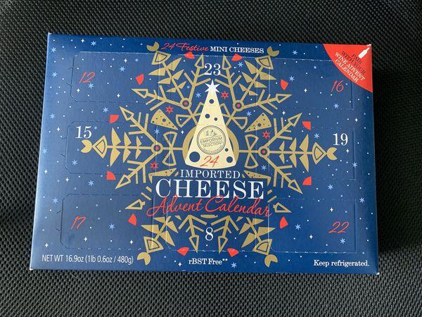 ALDI Cheese Advent Calendar 2019