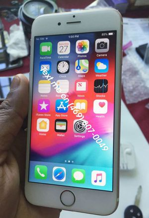Give away my iPhone 6s plus for Sale in Dublin, OH