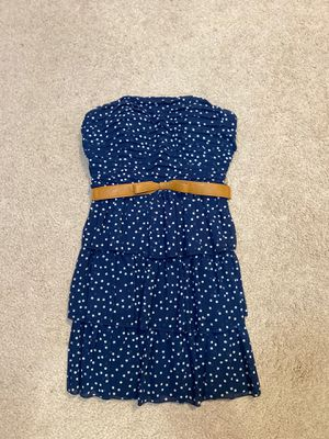Strapless belted dress for Sale in Chattanooga, TN