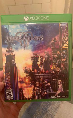 Kingdom Hearts 3 Xbox One for Sale in Philadelphia, PA