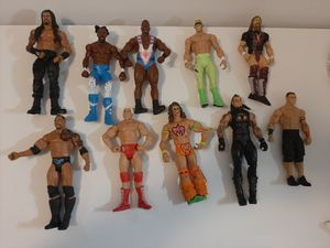 Lot of 10 WWE Wrestlers Action figures for Sale in Cumming, GA