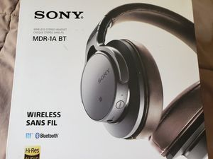 Sony headphones MDR-1A BT wireless Hi-Res audio for Sale in El Cajon, CA
