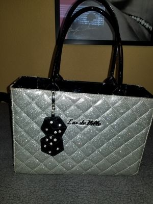 Original Lux de Ville Silver Purse $100. for Sale in Santa Ana, CA