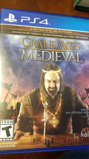 Grand ages medieval PlayStation 4 for Sale in Winter Haven, FL