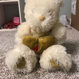 furry stuffed animal bear for Sale in Hanover Park, IL