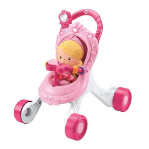 Fisher Price Mommy and Me Collection Brunette Doll and Stroller for Sale in Spring Valley, CA
