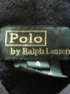 Polo hoodie Kids size 4 blue for Sale in Hyattsville, MD