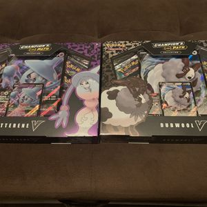 Pokémon Champions Path Hatterene and Dubwool Boxes for Sale in Fresno, CA