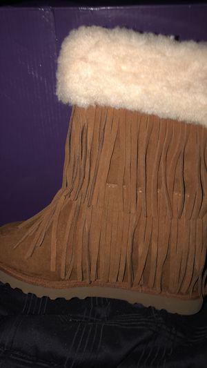 Steve Madden fringe boots for Sale in Porter, TX