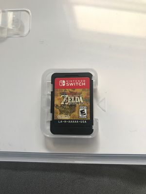 The Legend of Zelda Breath of Wild for Sale in Silver Spring, MD
