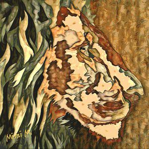 """Abstract Lion"" Art Print for Sale in Lake Wales, FL"
