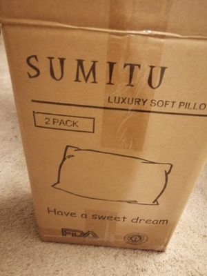 Bed Pillows, Hypoallergenic, Dust Mite Resistant for Sale in Rockville, MD