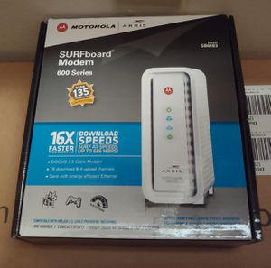 Motorola/Arris Surfboard 6183 Modem for Sale in Indianapolis, IN