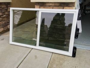 Brand New Simonton House replacement window / Slider / size w57-1/4 x h33-1/4 for Sale in Sacramento, CA