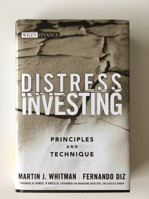 Distress Investing - Martin J Whitman for Sale in Baltimore, MD