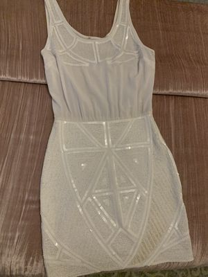 Brand New Bebe White Dress Size Small for Sale in Austin, TX
