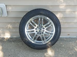 4 new pierlli 4 season 205 55r 16 with new rims and sd studs and new lug nuts for sale with 2 nut chucks for Sale in Tonawanda, NY