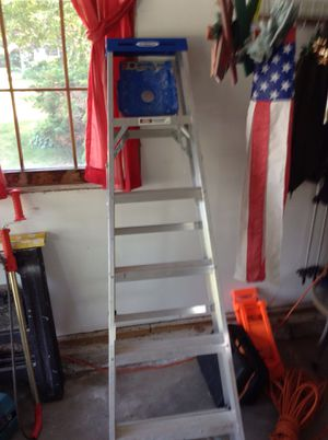 6 foot aluminum step ladder for Sale in Hudson, NH