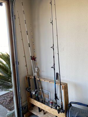 Fishing poles for Sale in Oceanside, CA