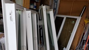 Retro fit windows different sizes $ 50.00 ea. 1@49X58.1/2 1@ 48.3/4X58.1/2 1@ 48.3/4X59.1/4. 1@48.3/4X65.1/2 1@ 48.3/4X64 for Sale in Pomona, CA