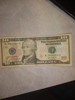 10 dollars. ML 90060044 B for Sale in Stockton, CA