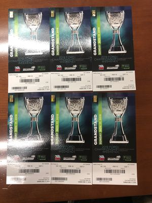 NASCAR Ford Ecoboost 400 championship race tickets 6 tickets for Sale in Margate, FL