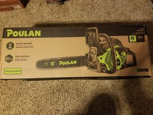 Poulan 16in Gas Chainsaw for Sale in Modesto, CA