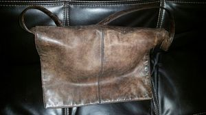 Eddie Bauer Brown Leather Messenger Bag for Sale in San Diego, CA