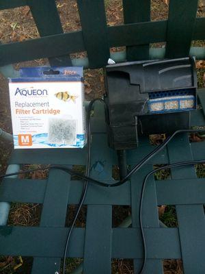 Aqeuon 10 gallon filter for Sale in Warwick, RI
