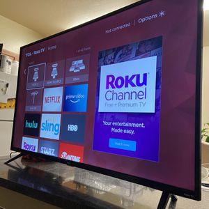 "55"" TCL 4K Roku TV for Sale in Bakersfield, CA"