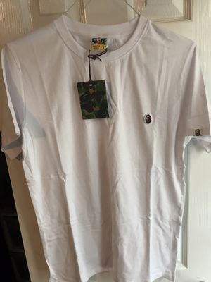 Bape embroidered white T-shirt for Sale in Sugar Land, TX