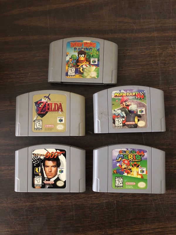 Games for nintendo 64