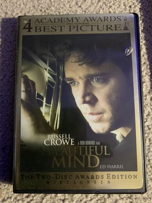 A Beautiful Mind DVD for Sale in Troutdale, OR