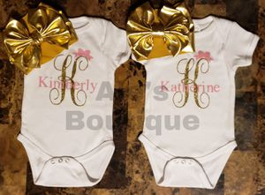 Personalized onesie for Sale in Puyallup, WA
