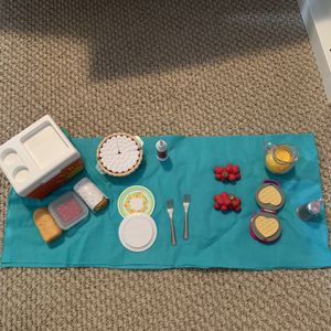 American Girl Picnic Accessories for Sale in Gaithersburg, MD