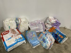 Diapers Lot Size 2T-3T-3-4 - MUST PICK UP for Sale in New York, NY