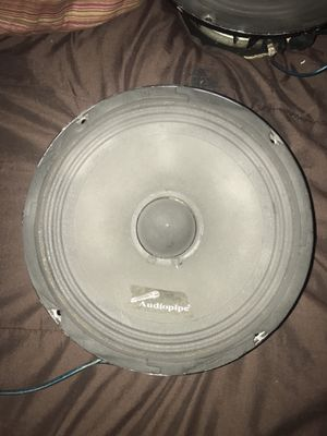 "2 AUDIO PIPE 8"" VOICE SPEAKERS $80 for Sale in Winter Hill, MA"