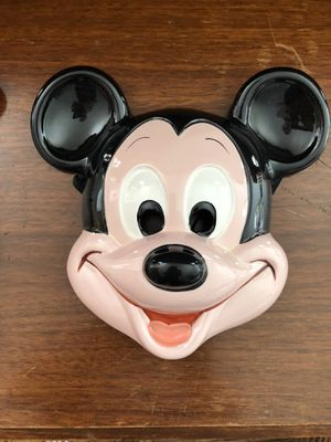 Paired Disney Mickey and Donald Porcelain Masks for Sale in San Francisco, CA