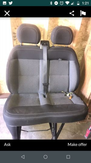 Promaster seat trade for Sale in Whittier, CA