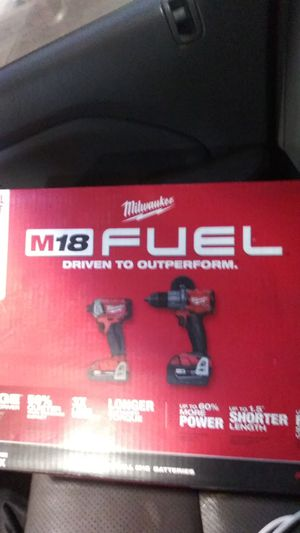 Brand new Milwaukee m18 fuel 2 tool combo kit for Sale in Royal Oak, MI