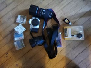 Canon rebel 2000 EOS body and to zoom lenses with filters for Sale in Raymond, WA