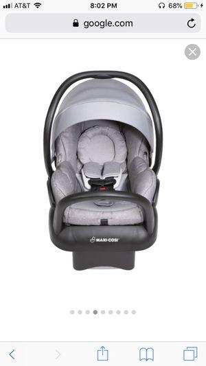 Infant grey maxi cosi car seat for Sale in Las Vegas, NV