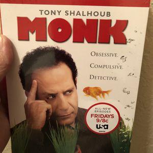 Monk Season 7 Set Brand New for Sale in Arlington, TX
