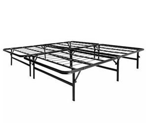 LUCID Foldable Cal King Size Metal Platform Bed for Sale in Dallas, TX