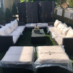 New Patio Furniture Set With Tables for Sale in Riverside, CA