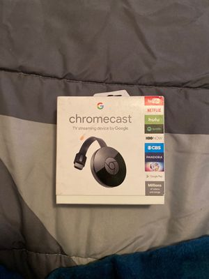 Chromecast tv streaming device by google for Sale in Philadelphia, PA