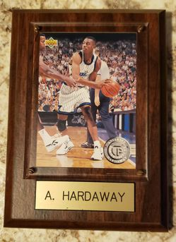 Anfernee Hardaway 1994 Upper Deck Top Prospect Basketball Card On Plaque for Sale in Cape Coral,  FL