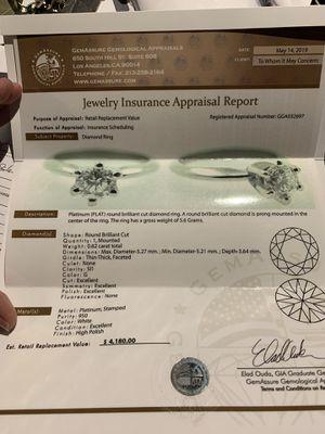 Platinum Diamond Ring for Sale in Costa Mesa, CA