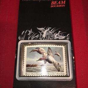 Bean Bourbon Duck Stamp Decanter for Sale in Arlington Heights, IL