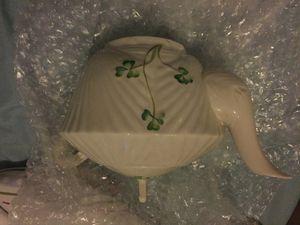 Antique Baleek Ireland teapot Irish porcelain for Sale in St. Joseph, MI